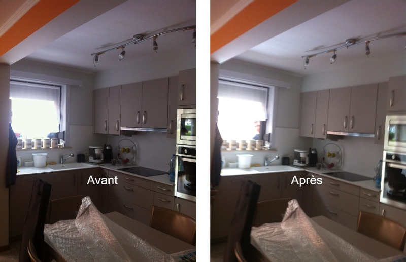 Appartement en rez de chauss e lumi re bloqu e que faire - Reflecteur lumiere maison ...