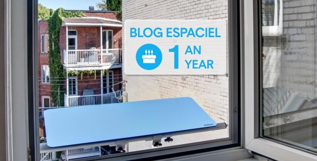 Espaciel's Blog celebrates its first Birthday!