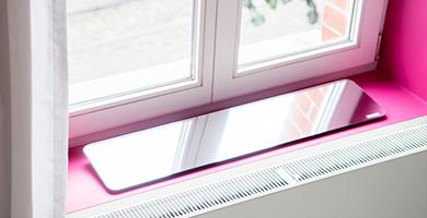 Espaciel r flecteur de lumi re pour votre logement for Tablette de fenetre interieur