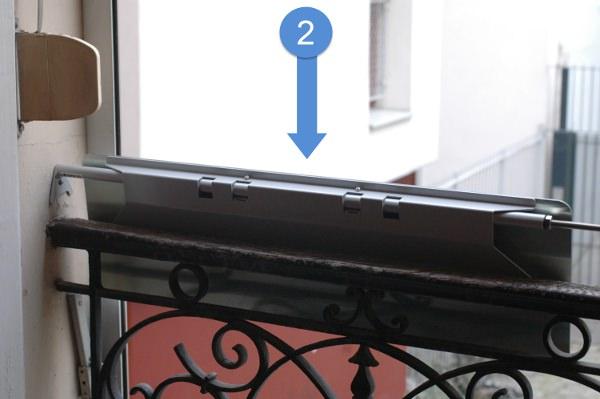 seconde-etape-pour-installer-poser-le-reflecteur-espaciel-simple