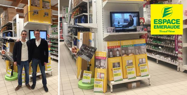 Espaciel disponible en magasin chez Espace Emeraude à Brest (Milizac)