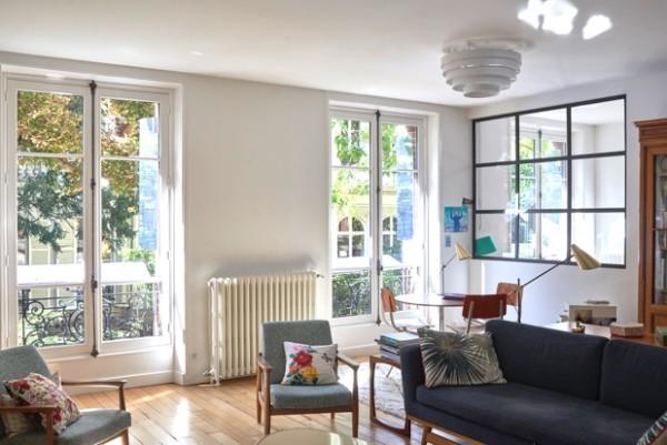 Appartement haussmannien comment amener la lumi re for Interieur haussmannien