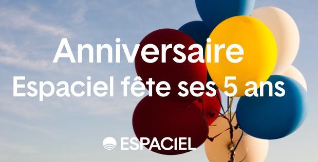 Espaciel fête 5 ans de lumière naturelle pour tous !